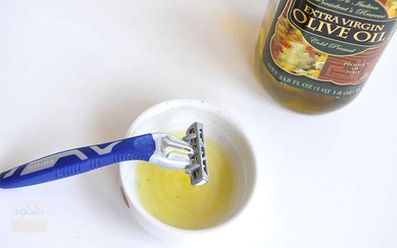 محافظت از تیغه ریش تراش در برابر زنگ زدگی ( Protect the razor from rusting )