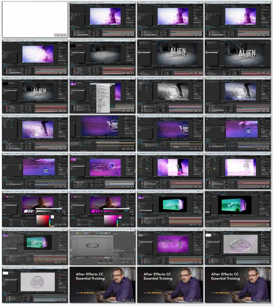 After Effects CC Essential Training 2015