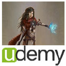 Udemy-Create.Professional.Character.Designs.in.Photoshop.5x5.www.Download.ir