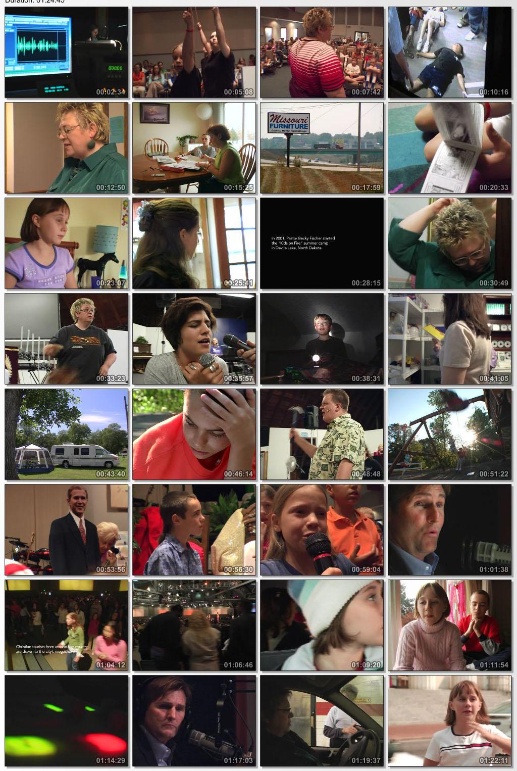 دانلود فیلم مستند Jesus Camp 2006