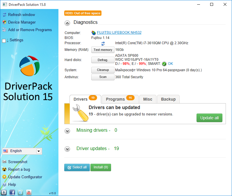 دانلود آخرین نسخه DriverPack Solution 15.8 Full