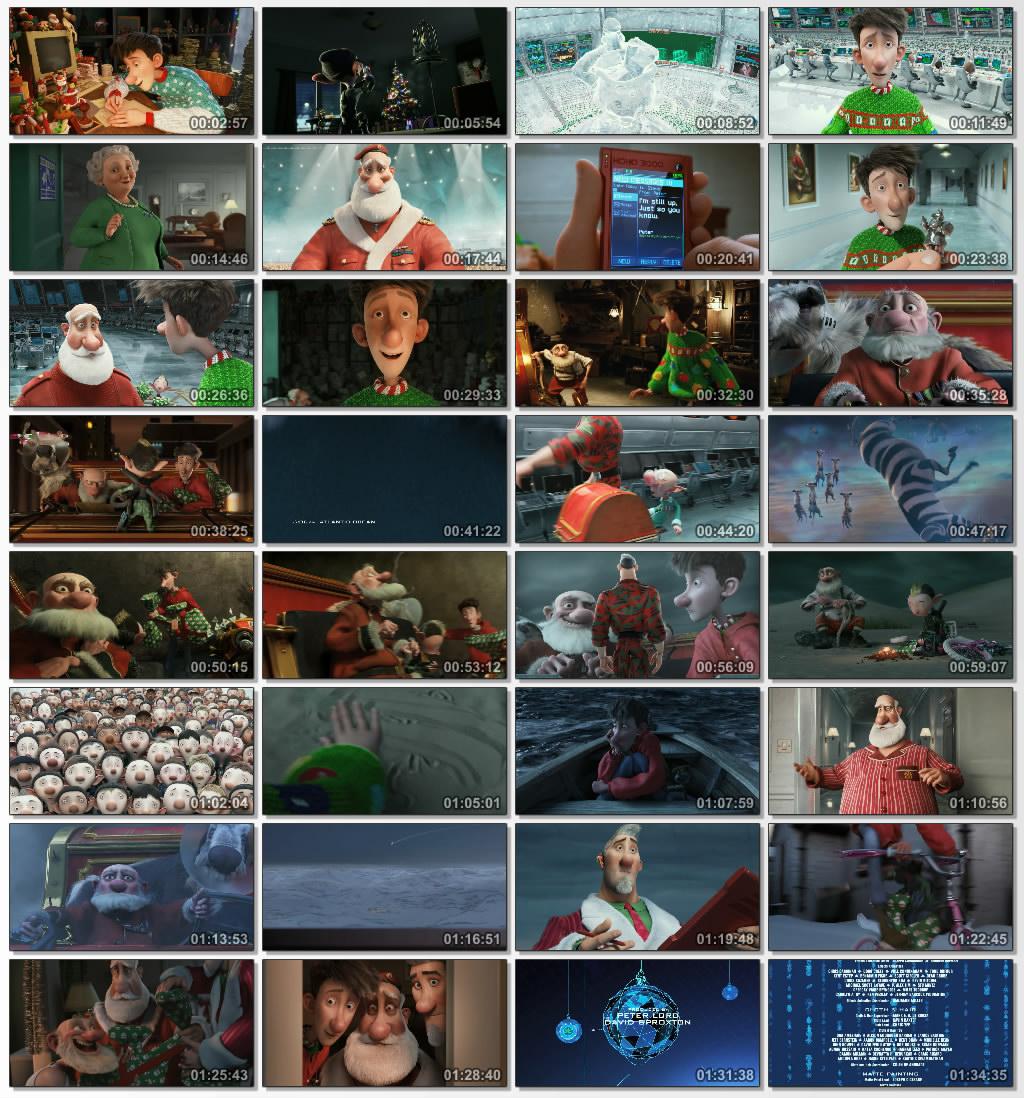 دانلود انیمیشن کارتونی Arthur Christmas 2011