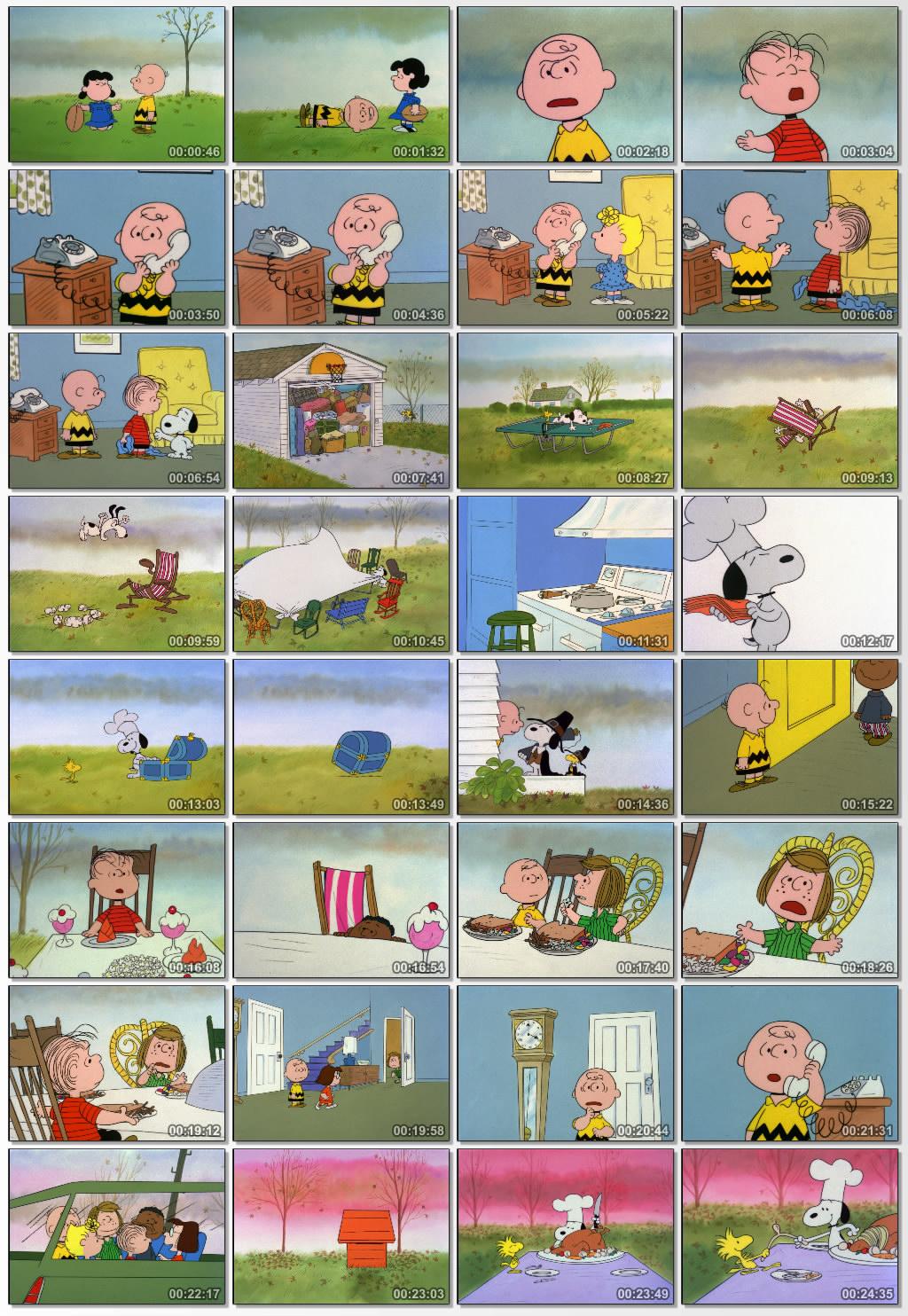 دانلود انیمیشن کارتونی A Charlie Brown Thanksgiving 1973