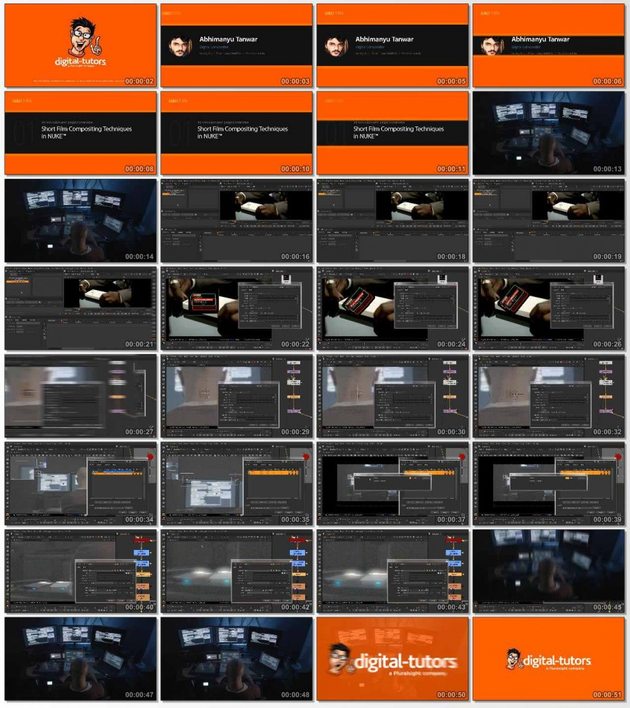 Short Film Compositing Techniques in NUKE