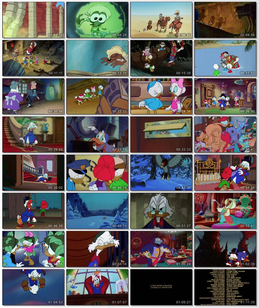 دانلود انیمیشن کارتونی DuckTales Treasure of the Lost Lamp 1990