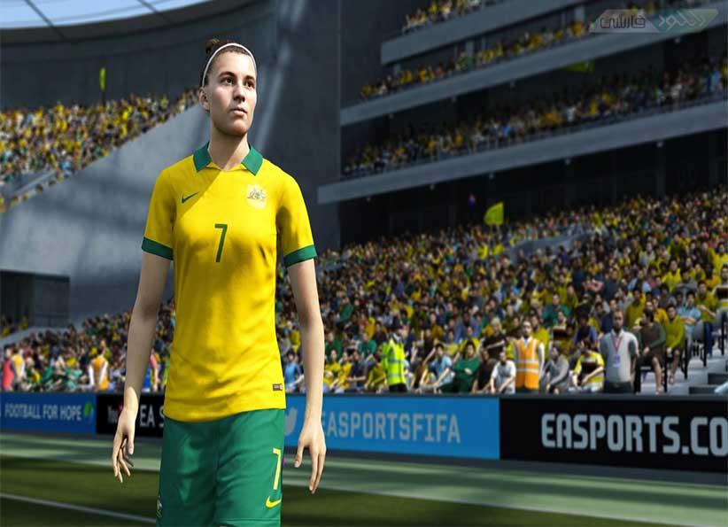 دانلود بازی FIFA 16 همراه با راهنمای نصب