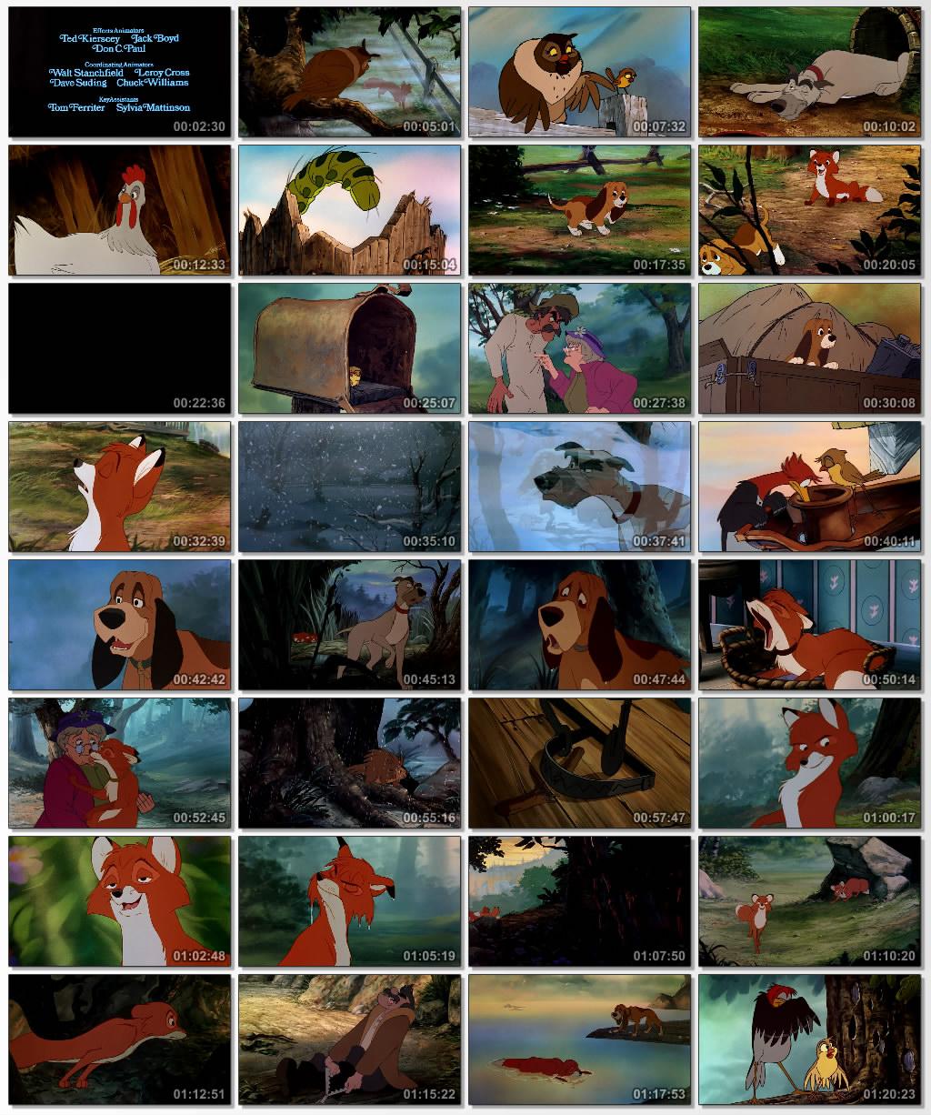 دانلود انیمیشن کارتونی The Fox and the Hound 1981