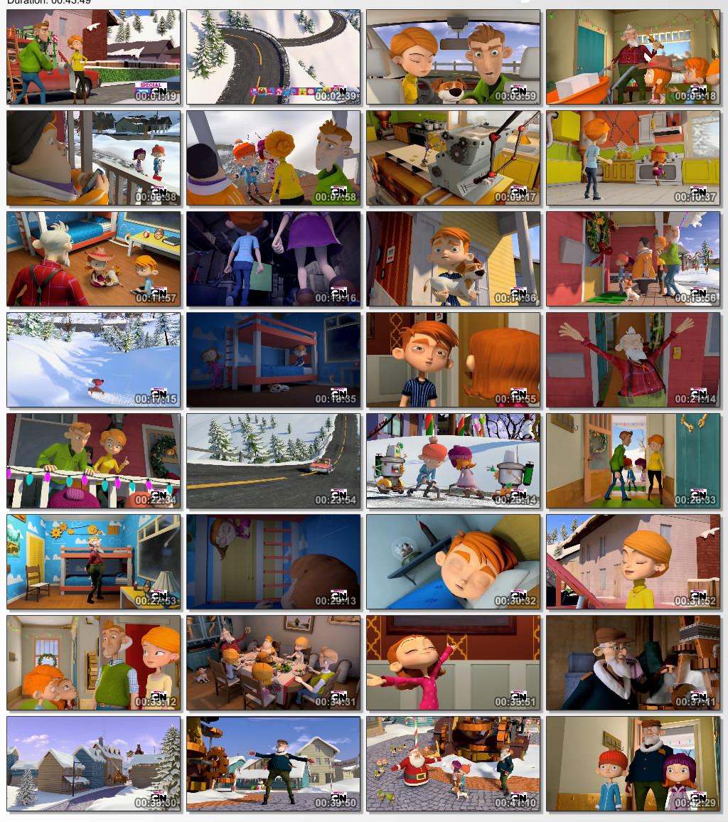 دانلود انیمیشن کارتونی Frozen in Time 2014