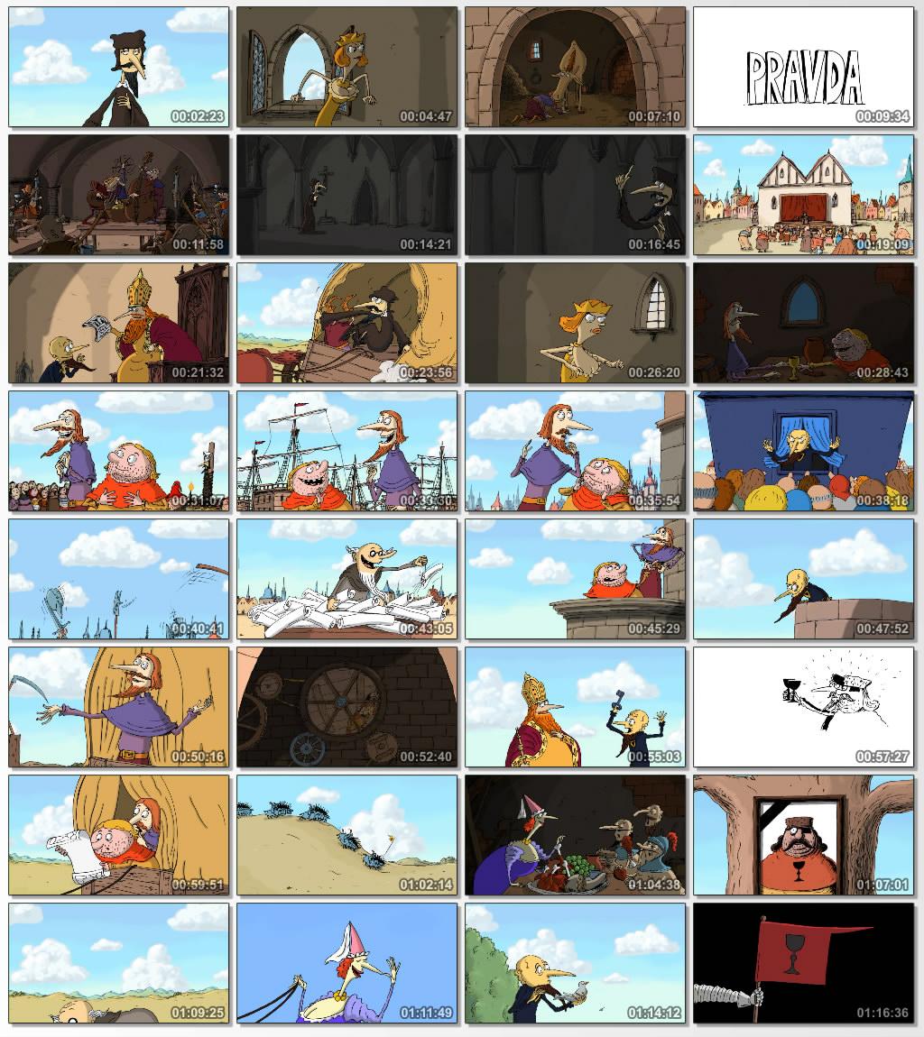 دانلود انیمیشن کارتونی Husiti 2013