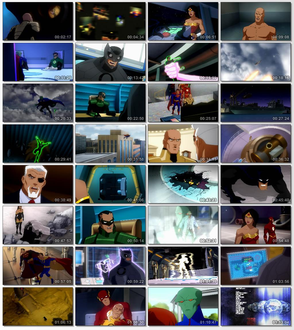 دانلود انیمیشن کارتونی Justice League Crisis on Two Earths 2010
