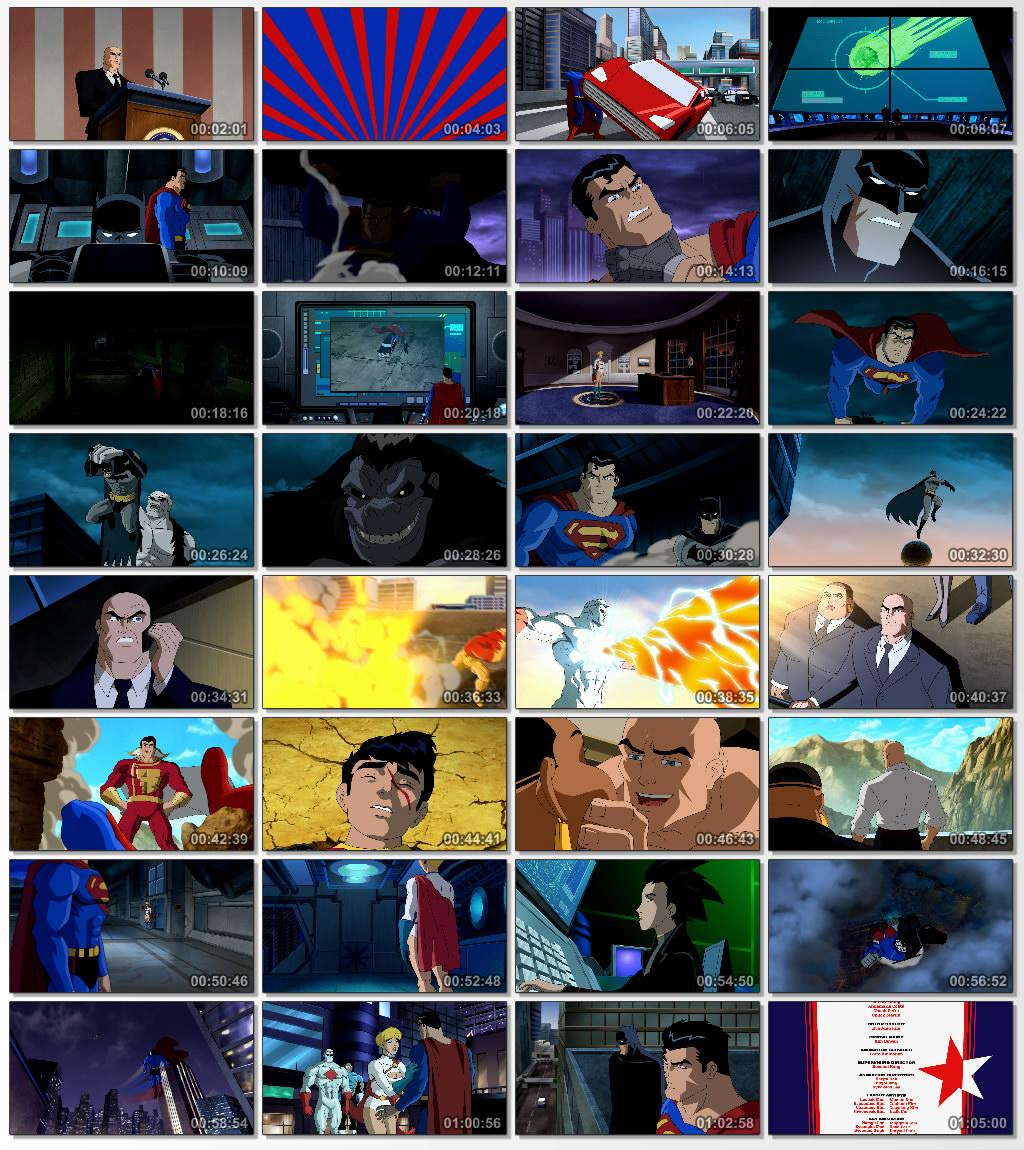 دانلود انیمیشن کارتونی Superman Batman Public Enemies 2009