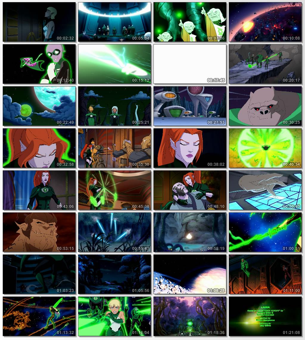 دانلود انیمیشن کارتونی Green Lantern Emerald Knights 2011