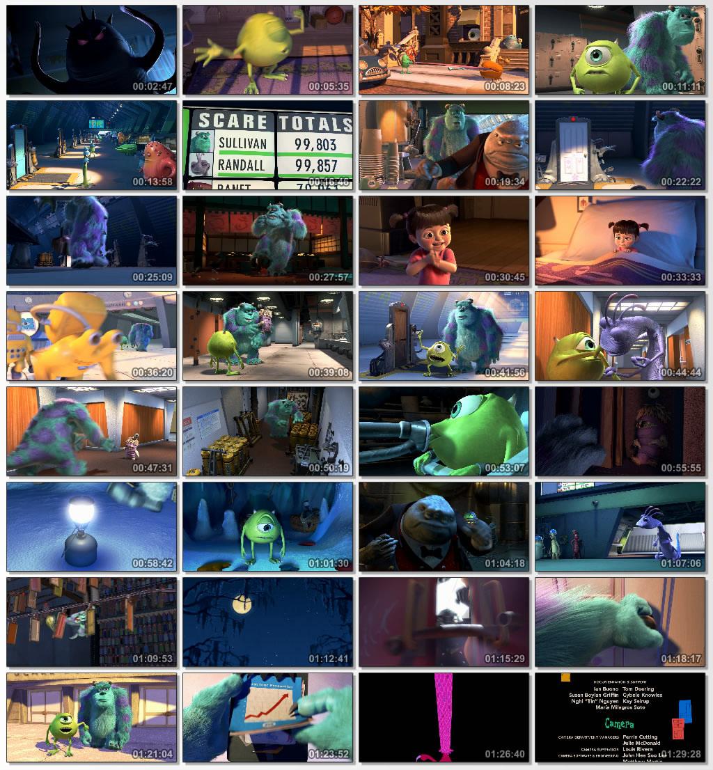دانلود انیمیشن کارتونی Monster Inc 2001