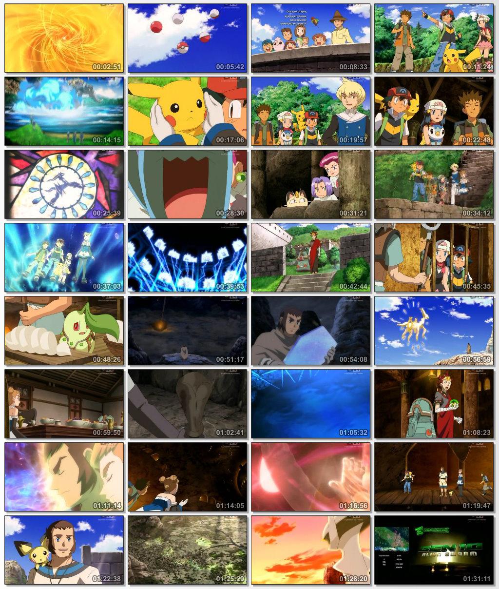 دانلود انیمیشن کارتونی Pokemon Arceus and the Jewel of Life 2009