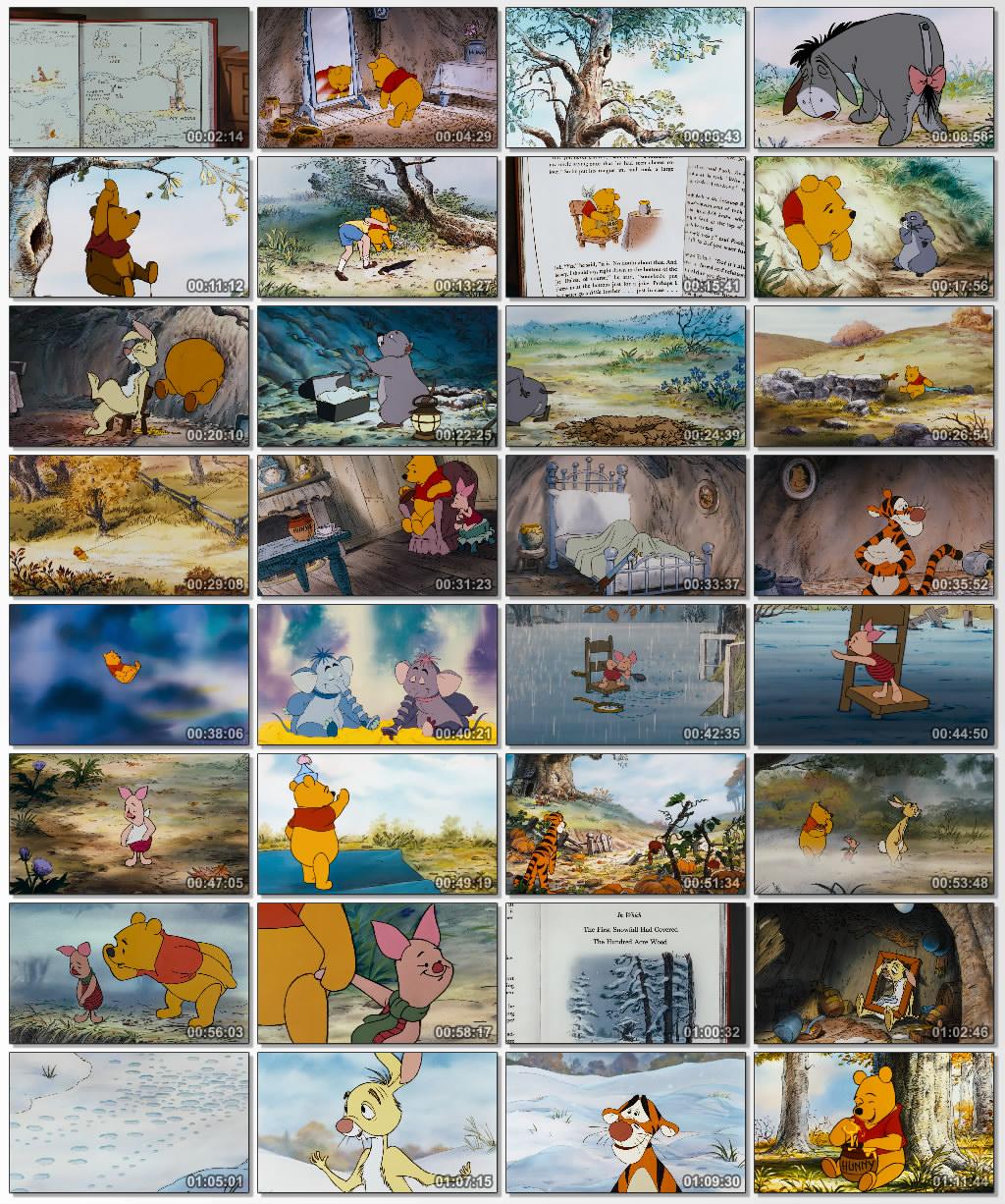 دانلود انیمیشن کارتونی The Many Adventures of Winnie the Pooh 1977
