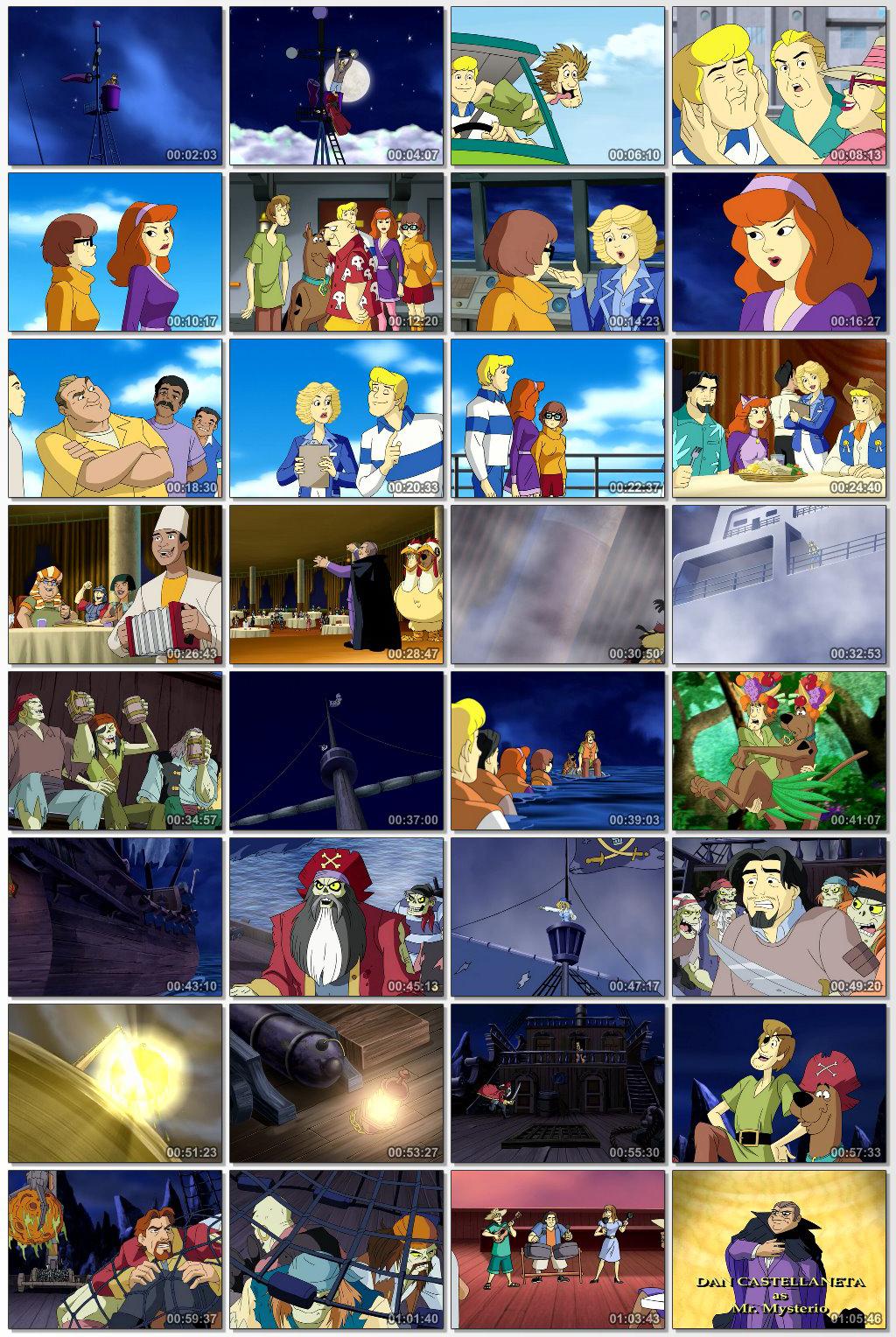 دانلود انیمیشن کارتونی Scooby Doo Pirates Ahoy 2006