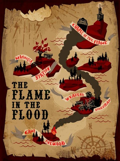 نتیجه تصویری برای دانلود بازی The Flame in the Flood برای PC