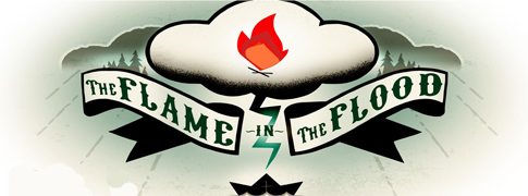 The.Flame .in .the .Flood Logo.www .Download.ir  دانلود بازی کامپیوتر The Flame in the Flood