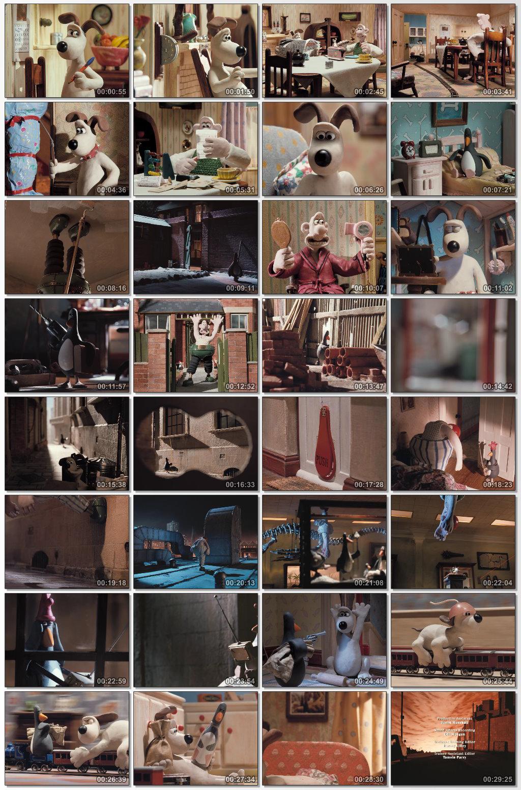 دانلود انیمیشن کارتونی Wallace and Gromit Wrong Trousers 1993