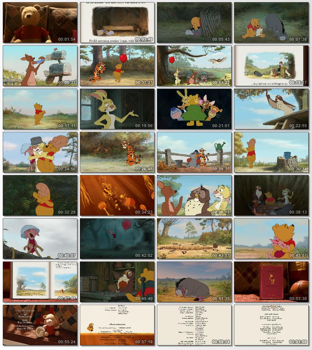 دانلود انیمیشن کارتونی Winnie the Pooh 2011