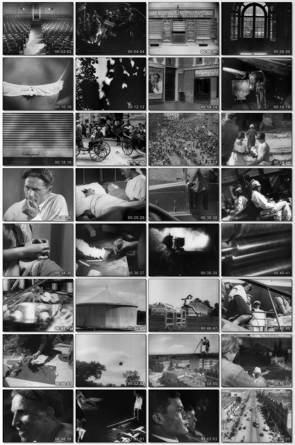 دانلود فیلم مستند Man with a Movie Camera 1929