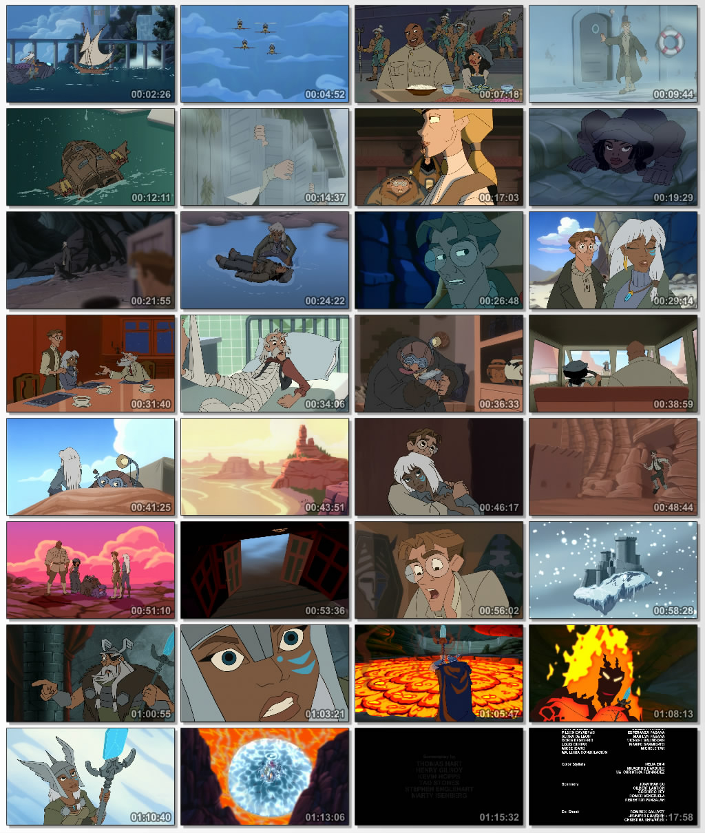 دانلود انیمیشن کارتونی Atlantis Milos Return 2003