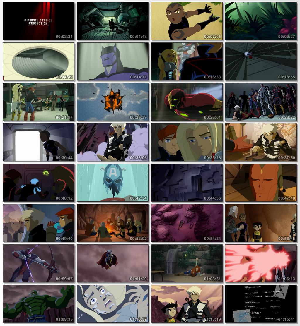 دانلود انیمیشن کارتونی Next Avengers Heroes of Tomorrow 2008