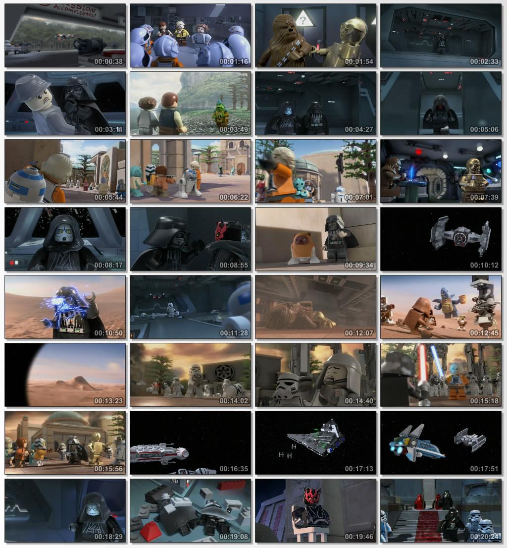 دانلود انیمیشن کارتونی Lego Star Wars Empire Strikes Out 2012