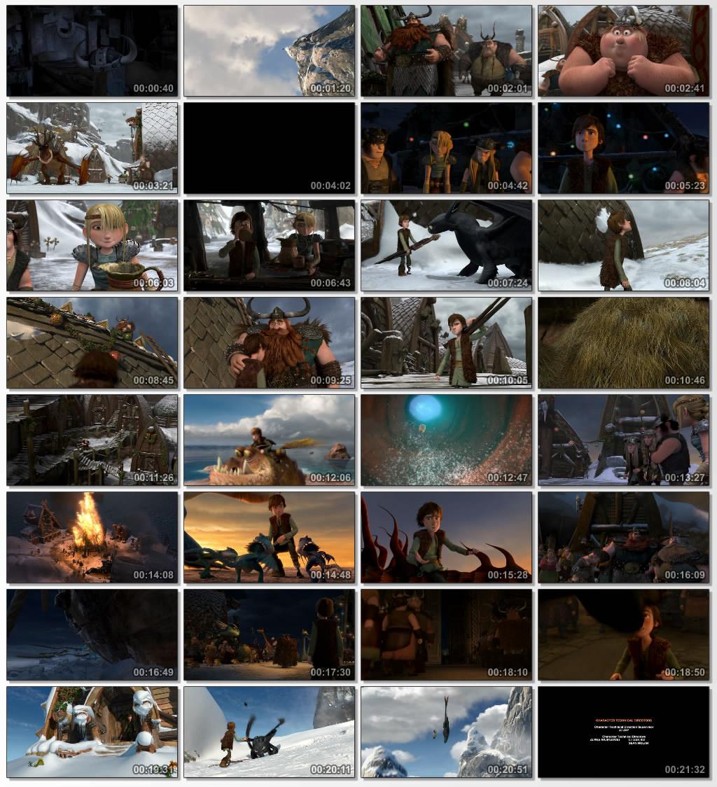 دانلود انیمیشن کارتونی Dragons Gift of the Night Fury 2011