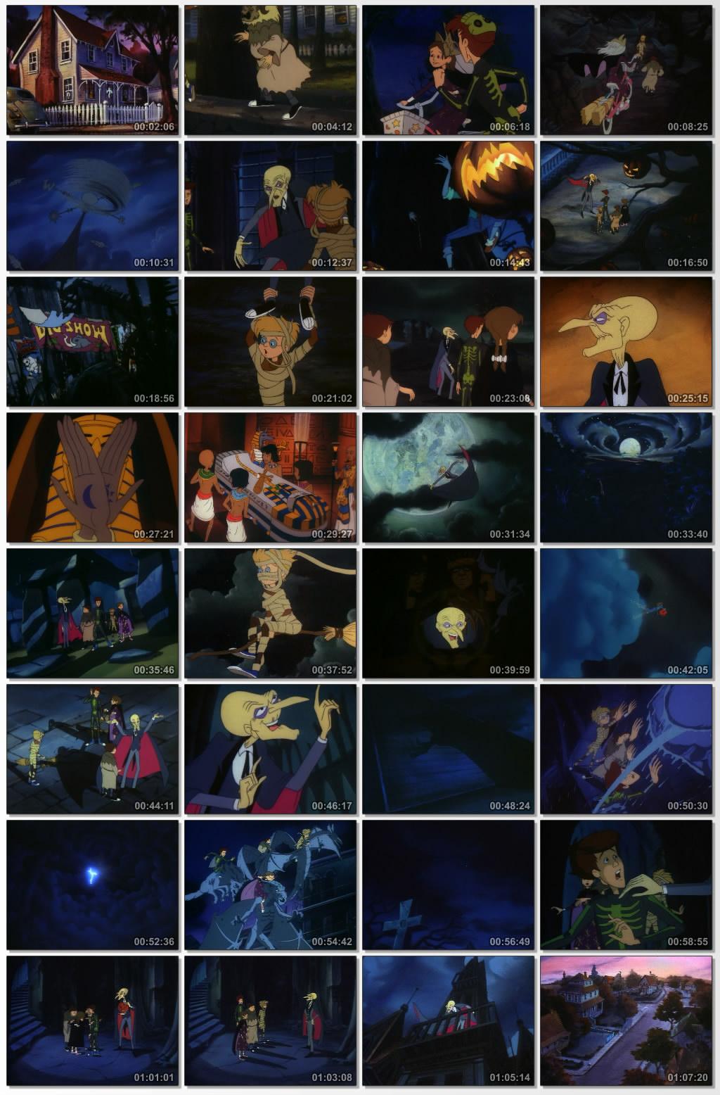 دانلود انیمیشن کارتونی The Halloween Tree 1993