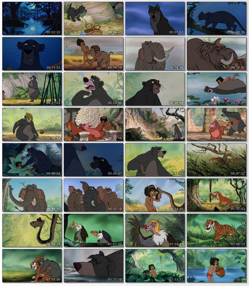 دانلود انیمیشن کارتونی The Jungle Book 1967