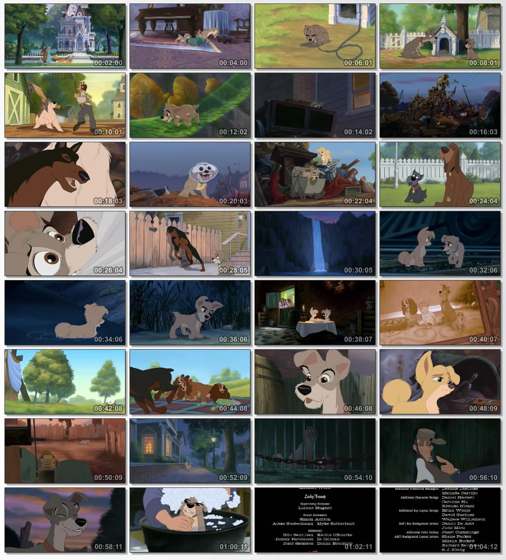 دانلود انیمیشن کارتونی Lady and the Tramp II 2001