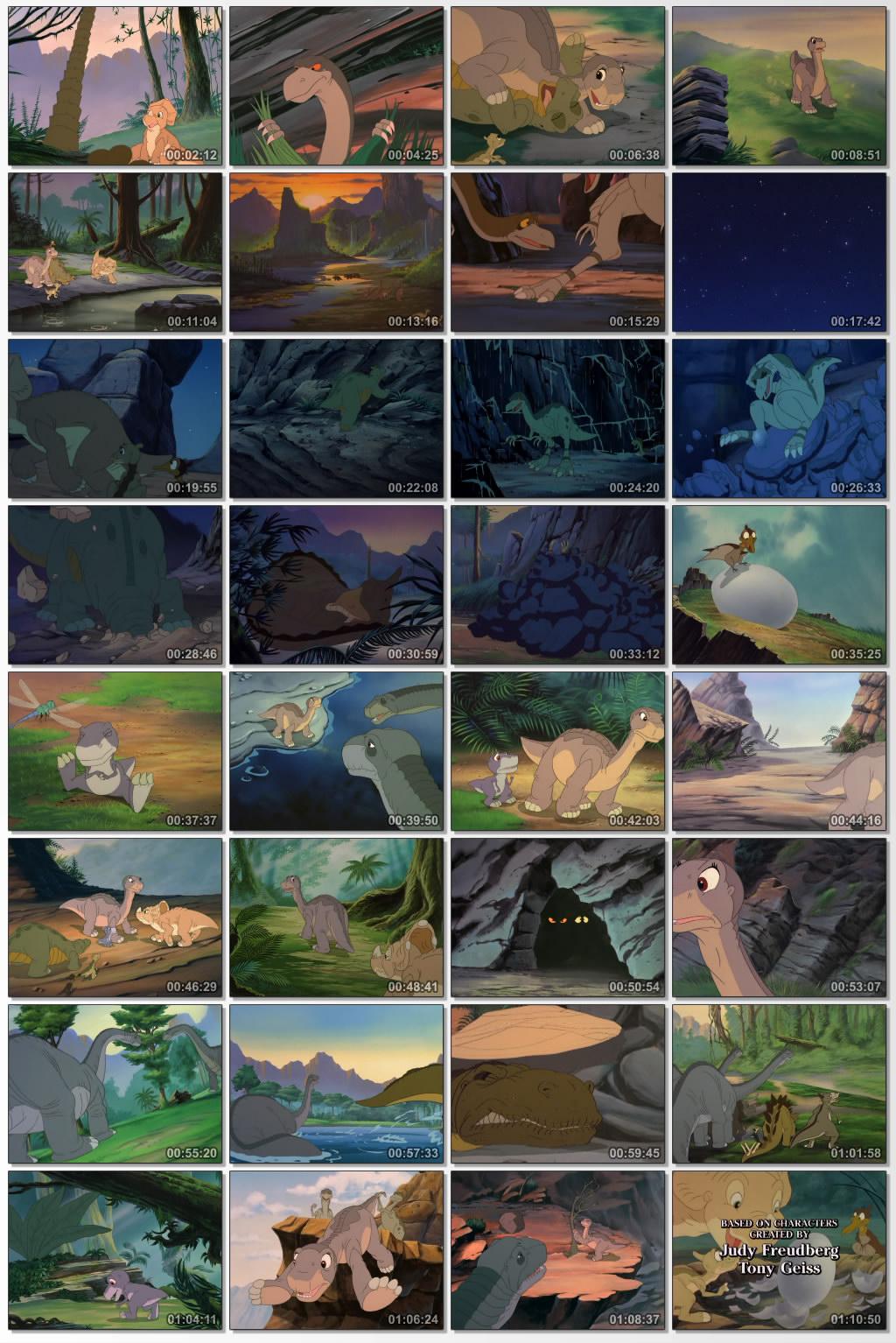 دانلود انیمیشن کارتونی The Land Before Time II 1994