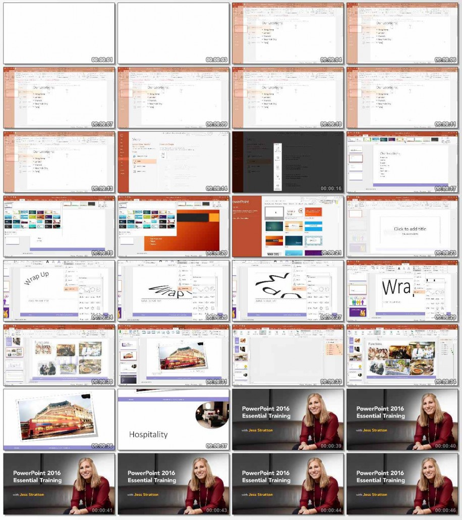 PowerPoint 2016 Essential Training