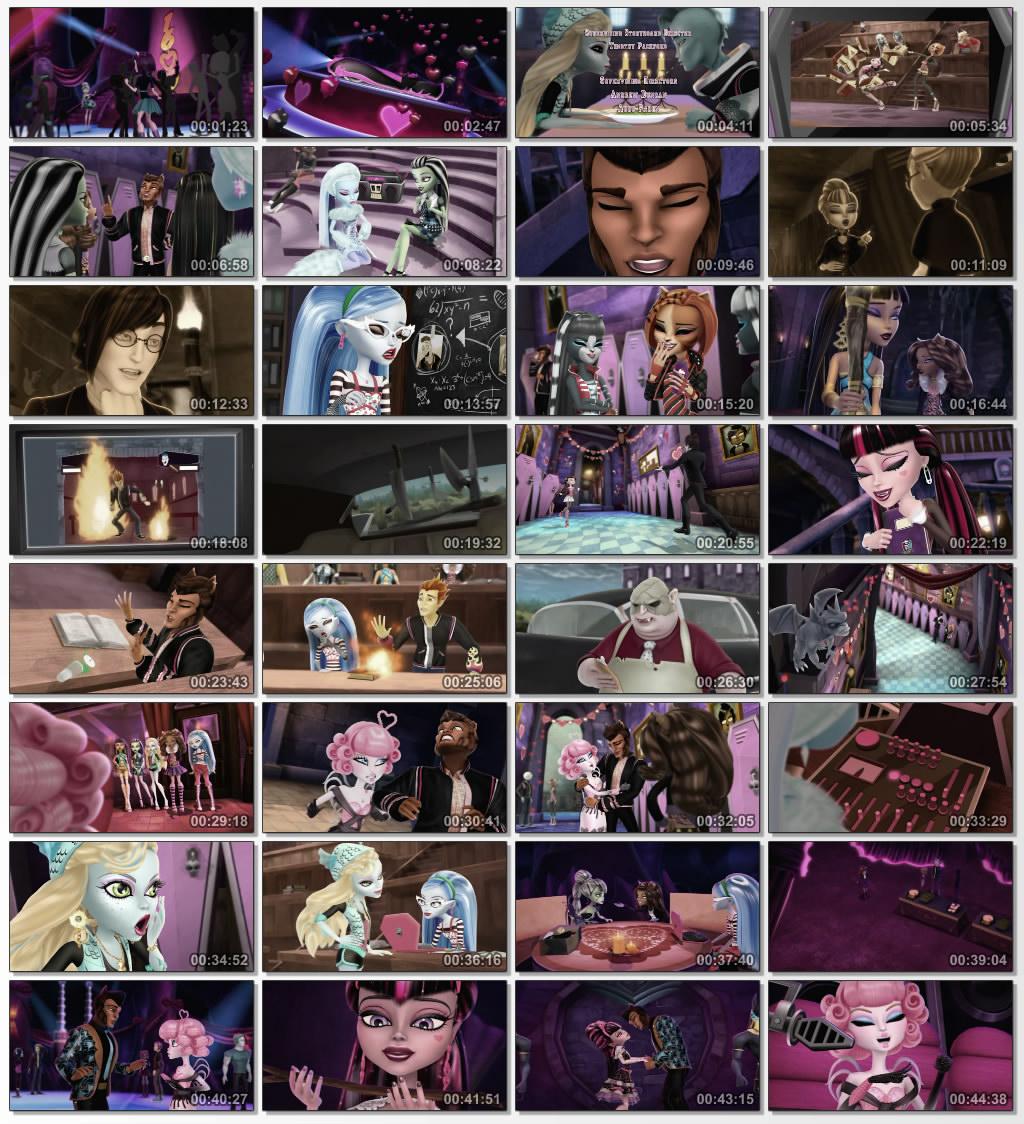 دانلود انیمیشن کارتونی Monster High Why Do Ghouls Fall 2011