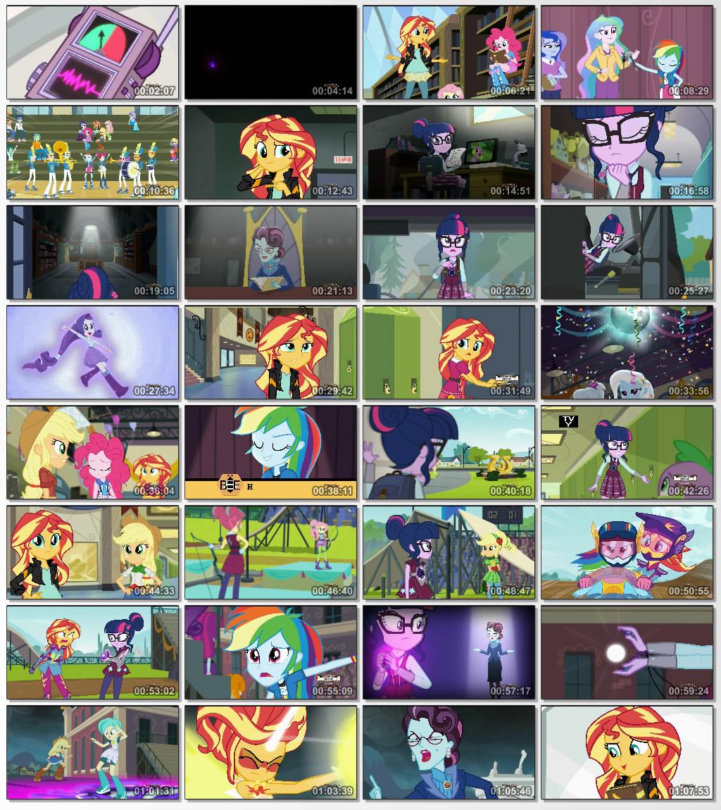 دانلود انیمیشن کارتونی My Little Pony Friendship Games 2015