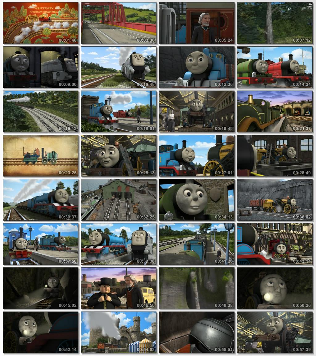 دانلود انیمیشن کارتونی Thomas Friends King of the Railway 2013