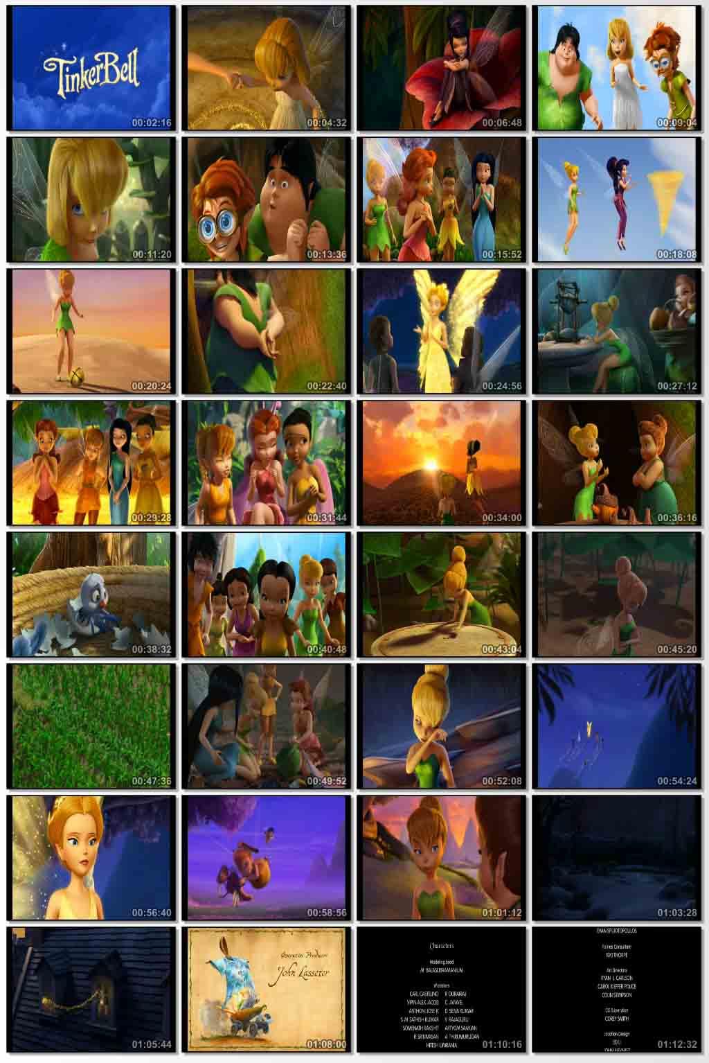 دانلود انیمیشن کارتونی Tinker Bell 2008
