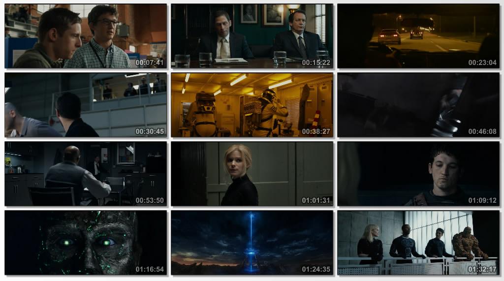 دانلود فیلم سینمایی Fantastic Four 2015
