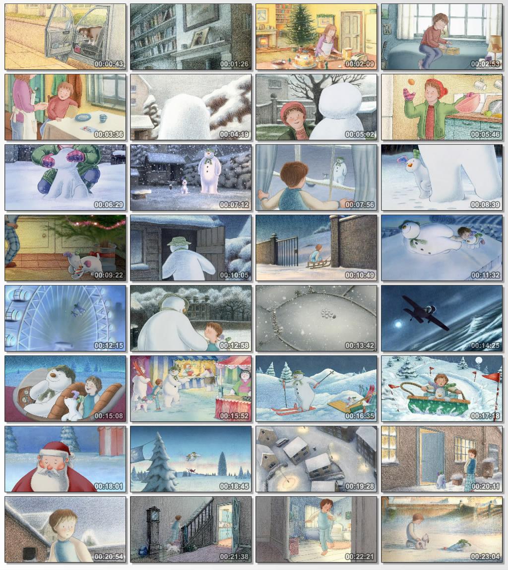 دانلود انیمیشن کارتونی The Snowman and the Snowdog 2012