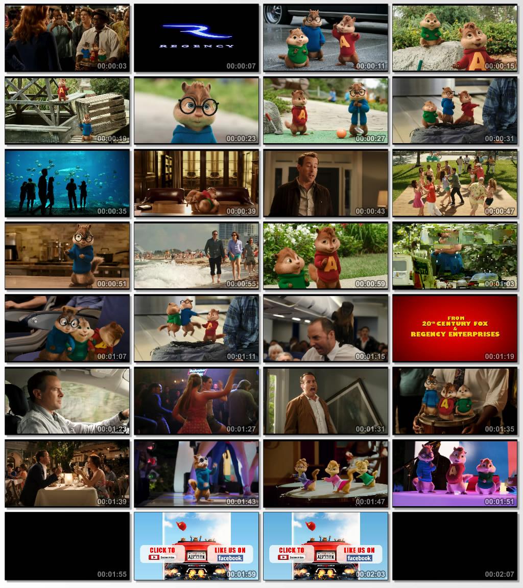 دانلود کارتون Alvin and the Chipmunks The Road Chip 2015