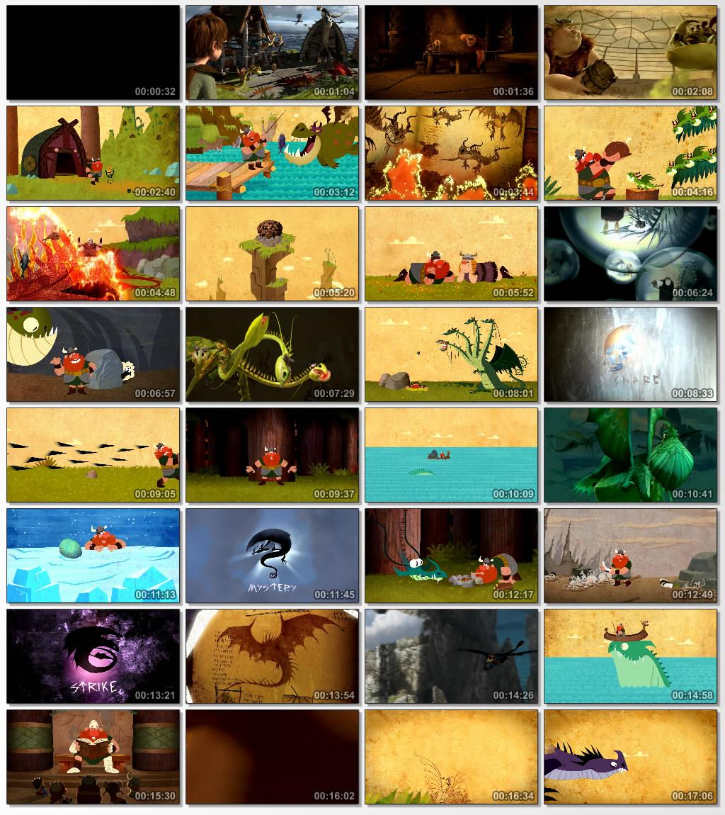 دانلود انیمیشن کارتونی Book of Dragons 2011