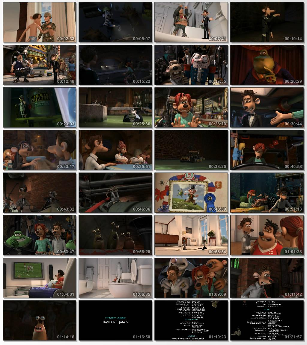 دانلود انیمیشن کارتونی Flushed Away 2006