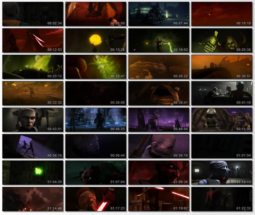 دانلود انیمیشن کارتونی Star Wars Darth Maul Returns 2012