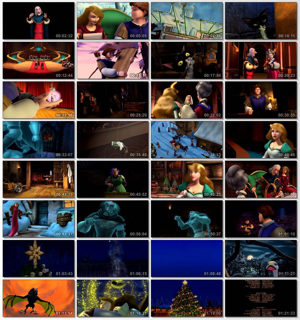 دانلود انیمیشن کارتونی The Swan Princess Christmas 2012