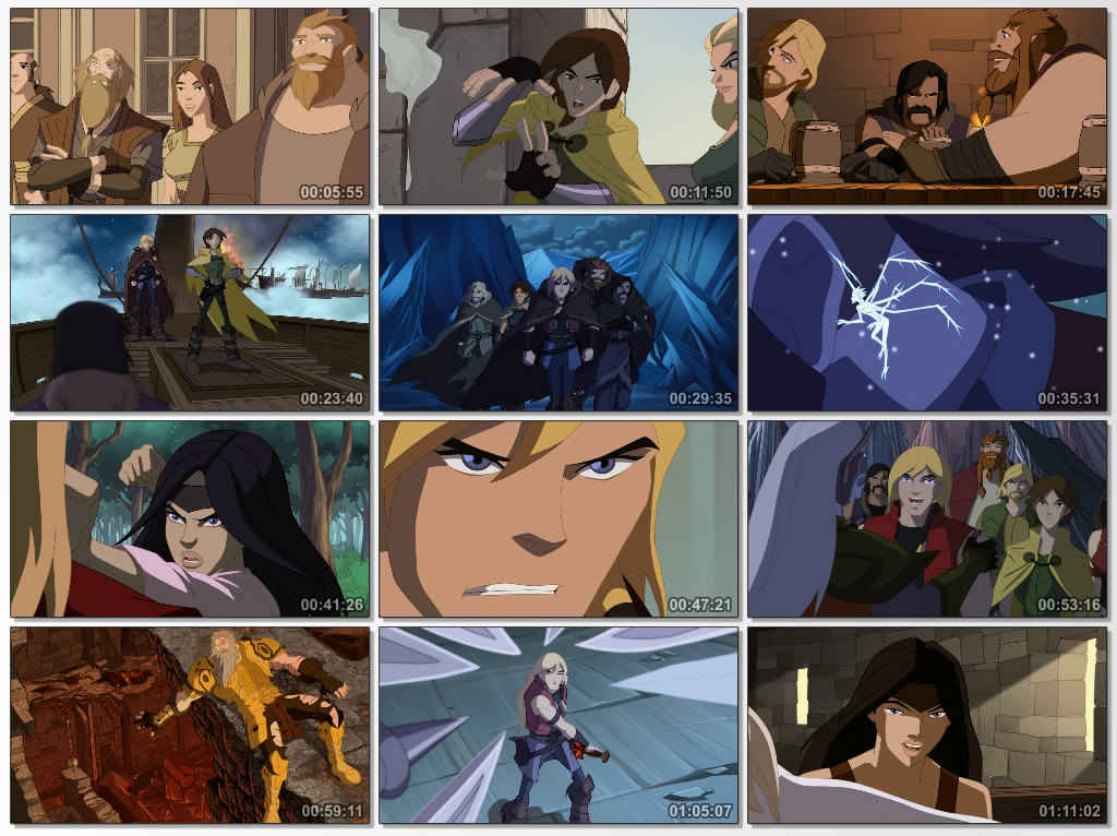 دانلود انیمیشن کارتونی Thor Tales of Asgard 2011