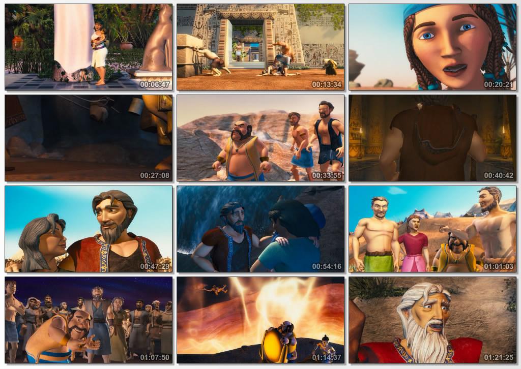 دانلود انیمیشن The Ten Commandments 2007