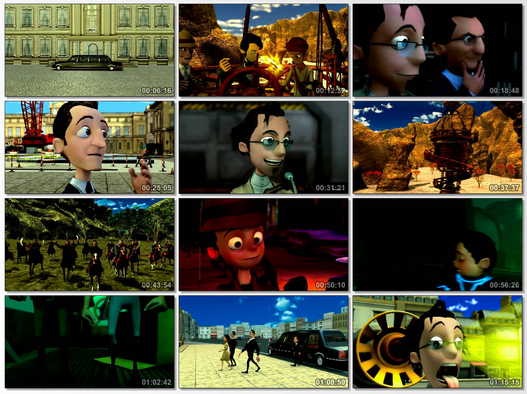 دانلود انیمیشن The Illusionauts 2012