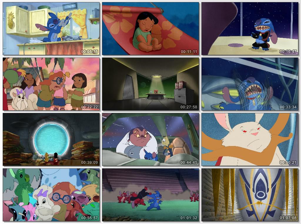 دانلود انیمیشن کارتونی Leroy and Stitch 2006