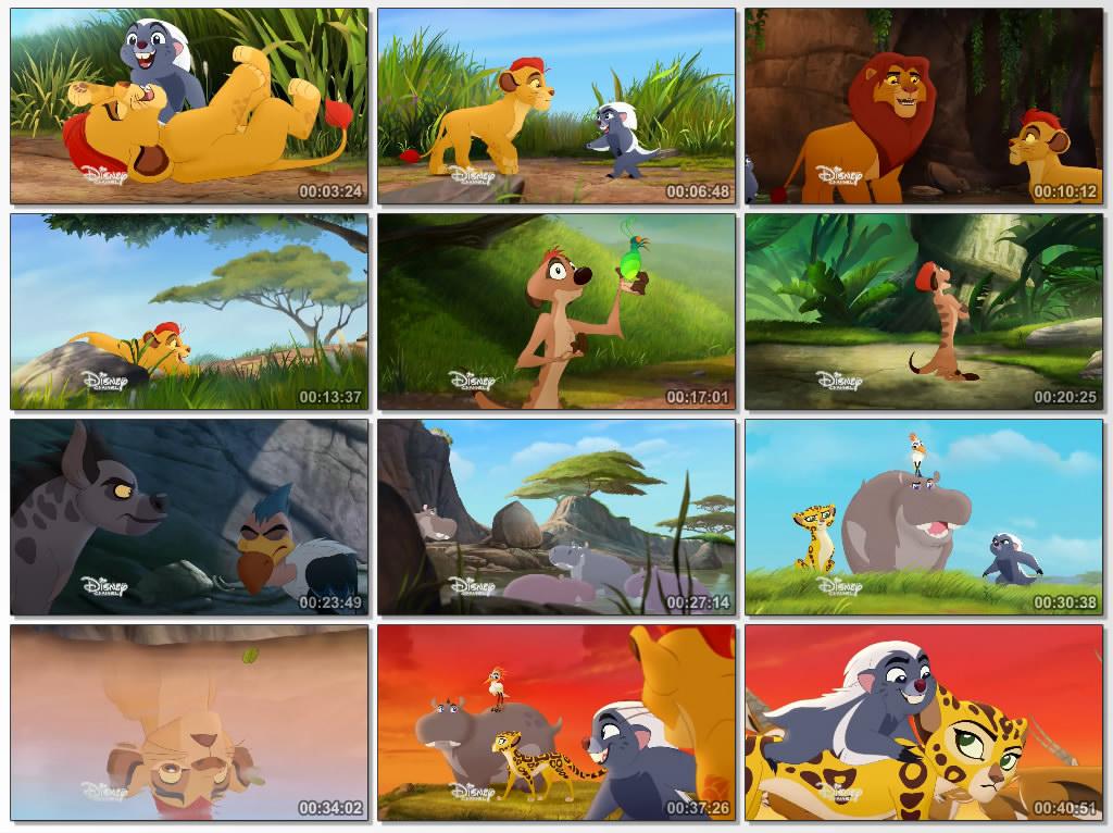 دانلود انیمیشن The Lion Guard Return of the Roar 2015